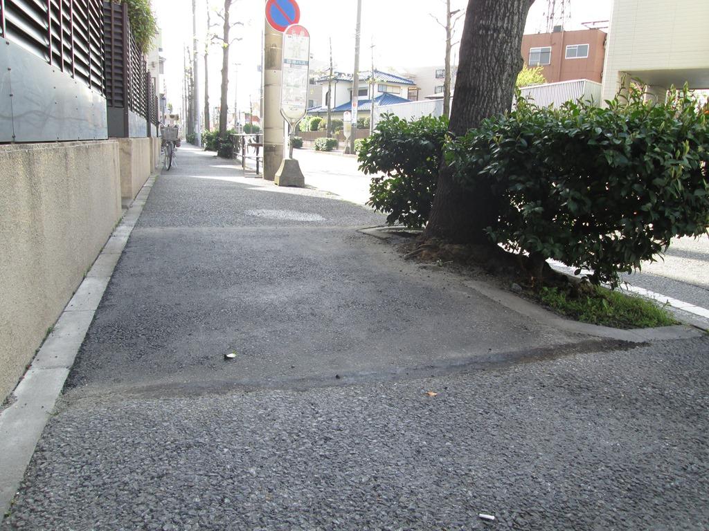 IMG_0848 歩道の街路樹の根がはりだしデコボコになっていた歩道を整備してもらいまし...