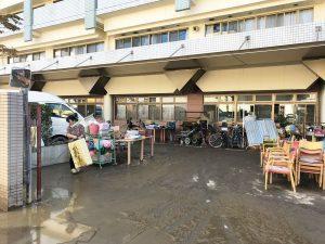 浸水被害を受けた『社会福祉施設みやうち』・その2