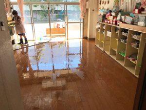 浸水被害を受けた西宮内保育園・その3