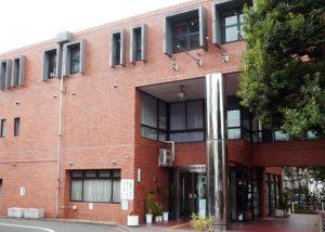 川崎市総合自治会館の全景