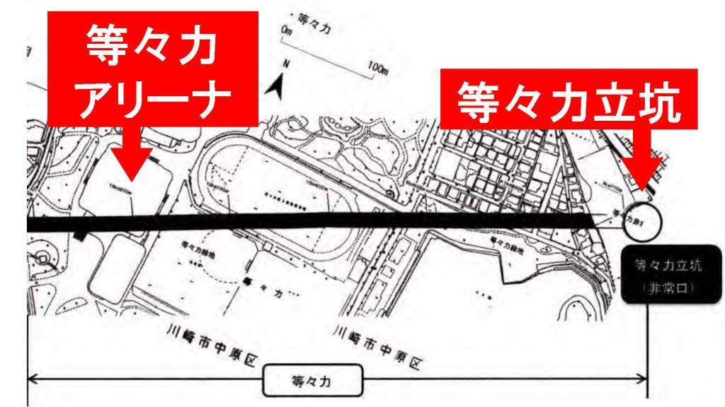 リニアルートの図・2